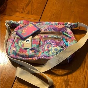 Lily Bloom Shoulder purse with Change Purse